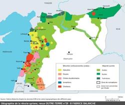 Syrie. les pays de la péninsule arabique et la guerre civile en syrie